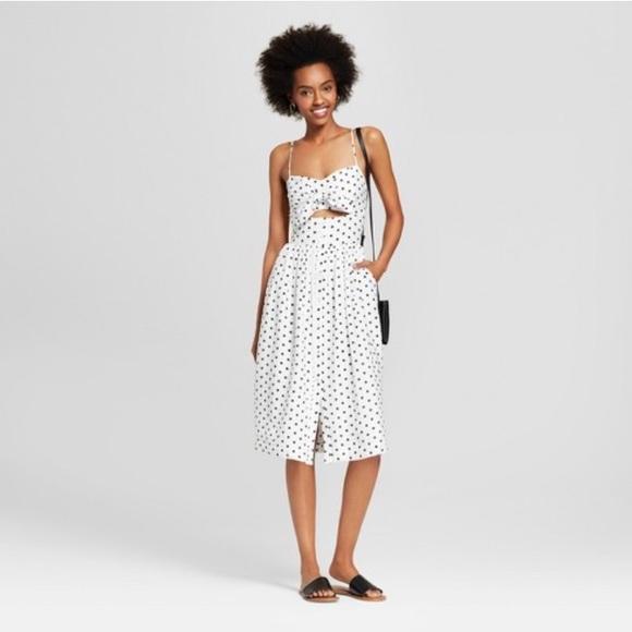 90f325b2fdd Target Xhilaration Polka Dot Cut Out Dress Size XS.  M 5b0db11cf9e5015e8699acf2